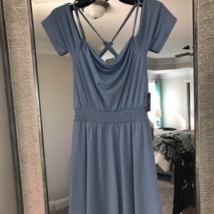 NWT Express off the shoulder dress
